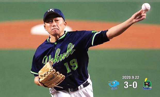 先発・石川投手が6回2失点で試合を作るも、打線がつながらず敗戦…