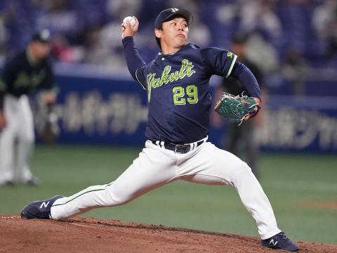 先発・小川投手が6回途中2失点の力投