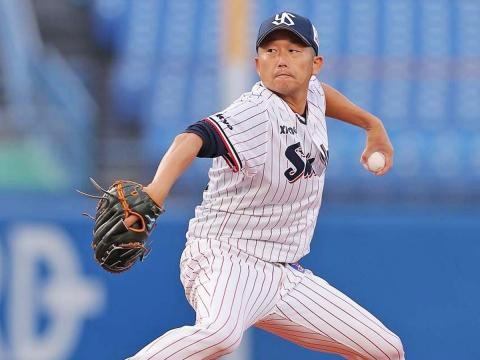 石川投手が6回5安打1失点の好投
