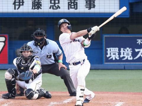 山田選手が23号3ラン