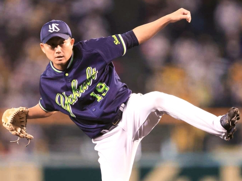 石川投手が6回3安打1失点