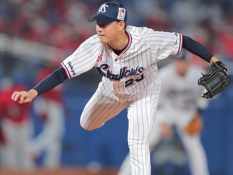 吉田大喜投手が今季初勝利を挙げる!