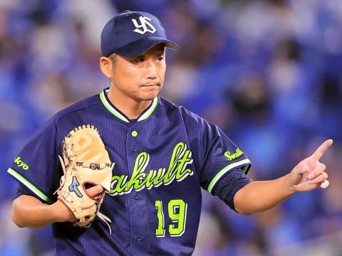石川投手が今シーズン初勝利!19年連続での勝利を飾る