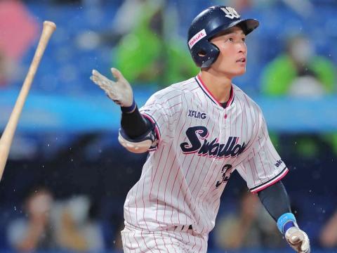 宮本選手がプロ初本塁打