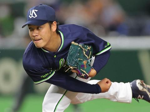 先発・小川投手は8回途中無失点の好投で今シーズン初勝利!