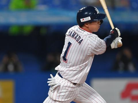 山田選手が猛打賞!
