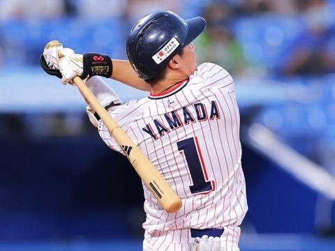 山田選手が2カ月ぶりとなる5号ソロ