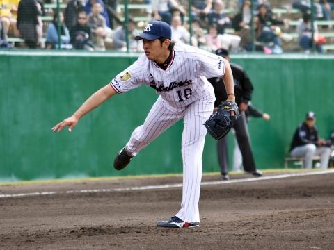 ルーキー原投手が初の実戦登板!