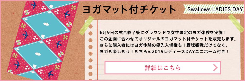 6月9日(日) ヨガマット付チケット